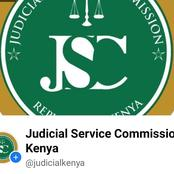 Kenyans Name Next Chief Justice As JSC Sets interview Date And List Of Shortlisted Candidates