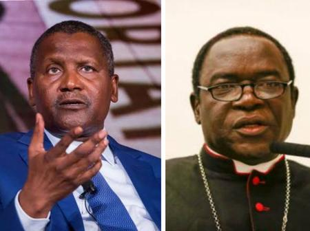 Today's News: Bishop Kukah Reveals Why He Prays For Mislims, Dangote React To Cement Price In Zambia