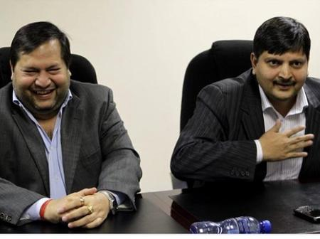 NB: ANC got involved with the Guptas after one of the brothers was appointed As President Advisor