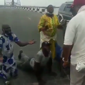 See What These People Were Caught Doing Before LASTMA General Manager (Photos)