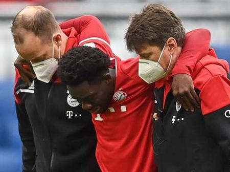 Bayern Munich loses Alphons Davies: ankle injury, sidelined for two months