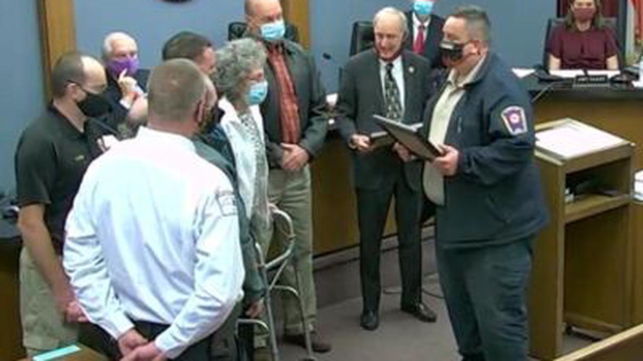 Lifesaving heroes honored by Fire Marshal, County Commissioners