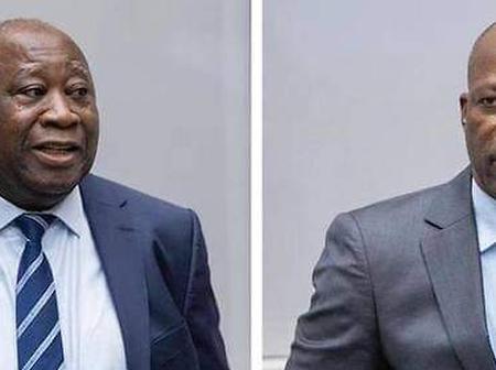 Koné Katinan , Claudy Siar, Yodé et Siro  saluent l'acquittement de Gbagbo et Blé Goudé