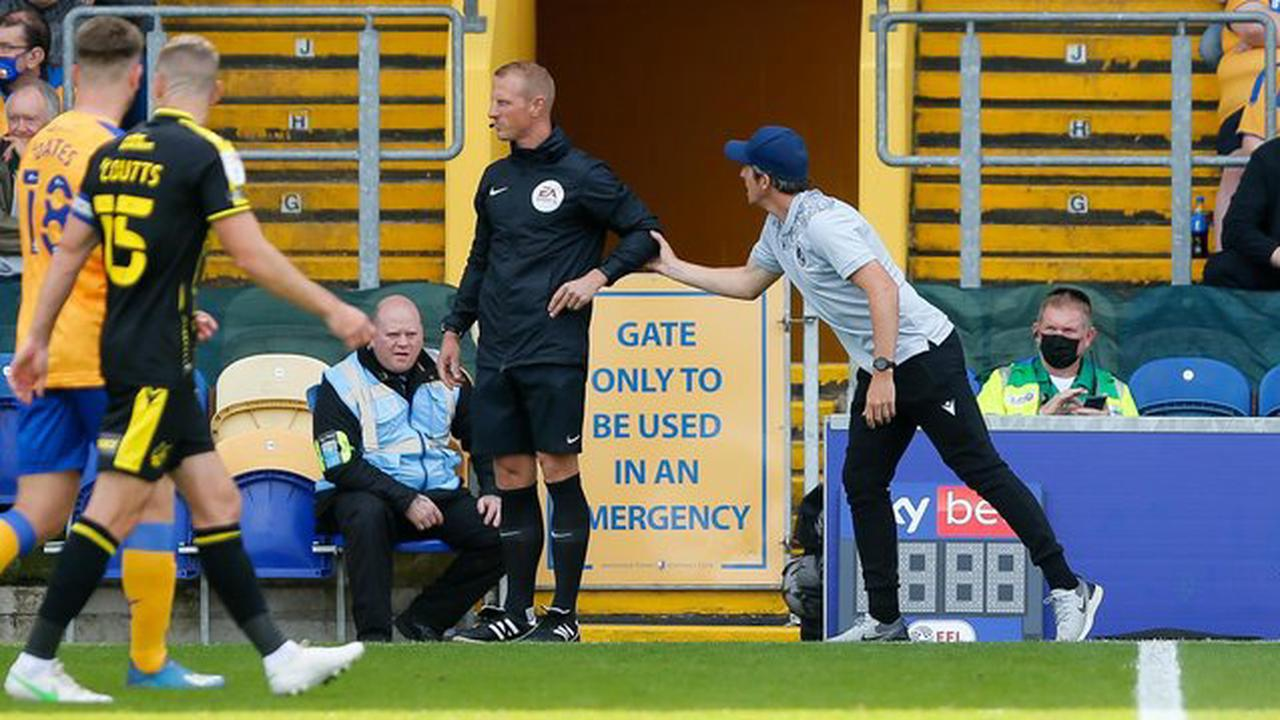 Joey Barton blasts referee after Bristol Rovers are beaten at Mansfield Town