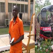 Jailed Driver Who Caused Dompoase Road Accident Begs Ghanaians For Forgiveness