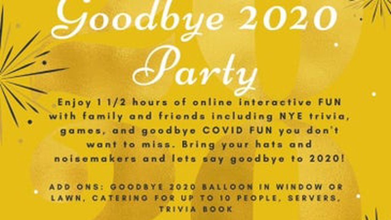 Local Gigs & Services: Goodbye 2020 Party!