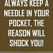Do you know keeping a needle in your pocket can save a life? Check out why and how this is possible