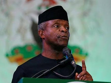 Youths react to the words of Yemi Osinbajo that Visa will be needed to go to Kano if Nigeria splits