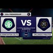 Orlando Pirates is on good position