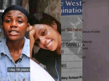 She Wrote WAEC 3-Years Ago But Her Blind Dad Could Not Afford Money To Check Result, See Her Result