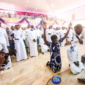 Freed Kirikiri inmates visit Prophet Israel Ogundipe (PHOTOS)