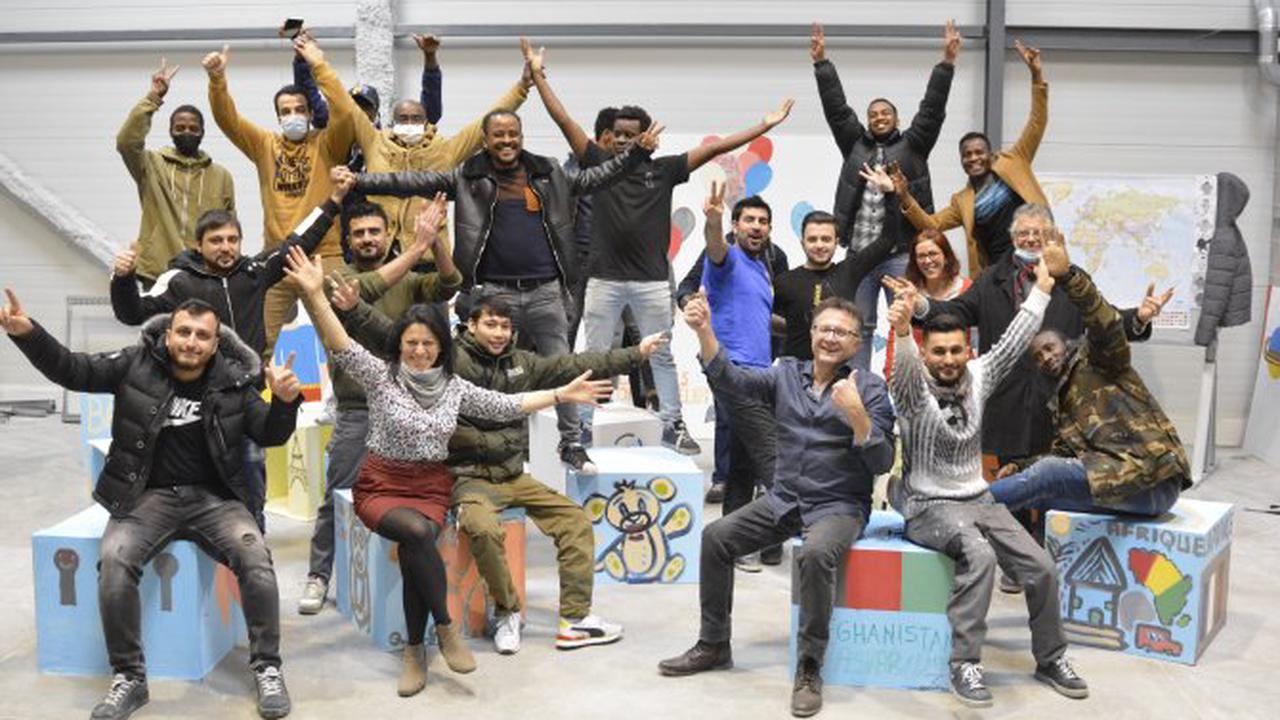 Les Clés de l'Atelier forment des réfugiés aux métiers du BTP - Auvergne Rhône-Alpes