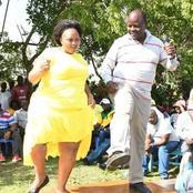 Senator Millicent Omanga Entertains Matungu Residents By Showing Exciting Moves
