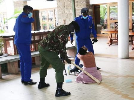 The Officer That Assaulted Mlango MCA Was Fired In 2016, How Did He Manage To Get His Uniform Back?