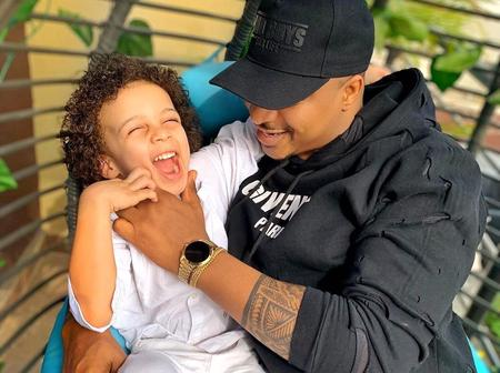 Meet the handsome son of popular Nigerian actor, Ik Ogbonna