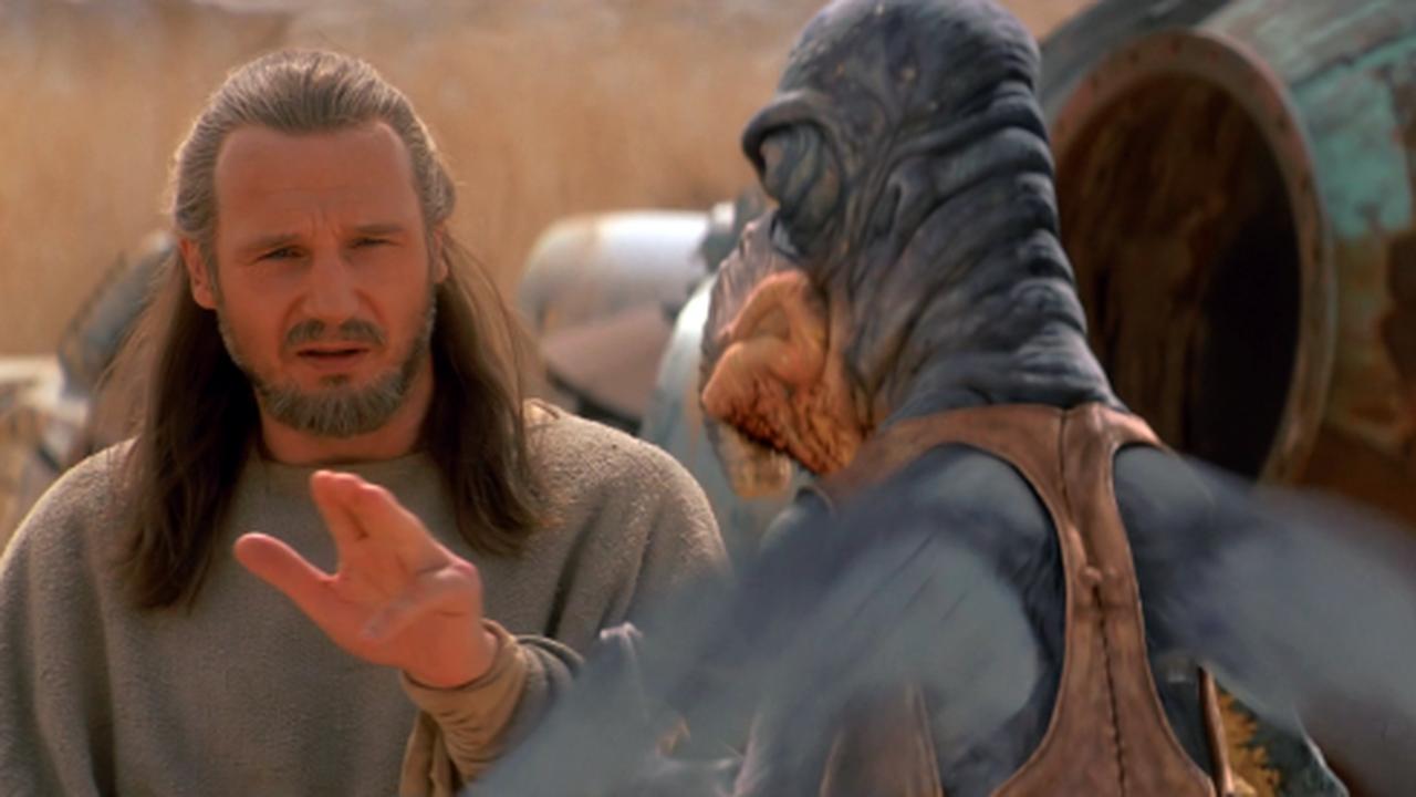 Liam Neeson veut reprendre le rôle de Qui-Gon Jinn