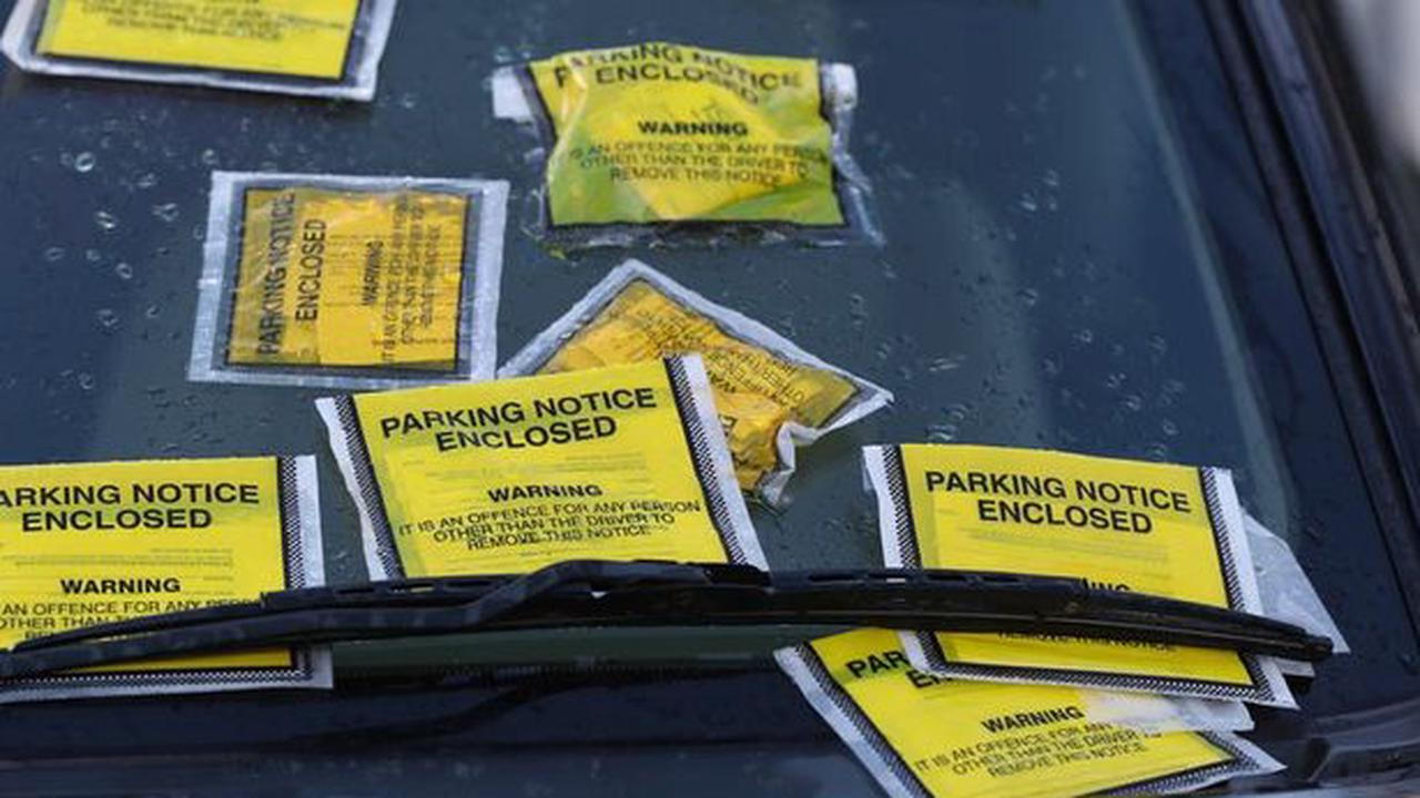 Where in UK you are most likely to get a parking ticket