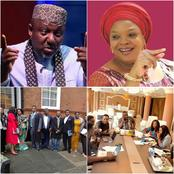 Meet Former Governor Rochas Okorocha, His Wife And Six Lovely Children [Photos]