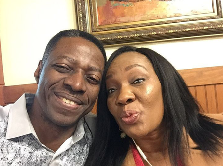 20 Romantic Photos of Pastor Sam Adeyemi And His Wife, As He Celebrates His Birthday.