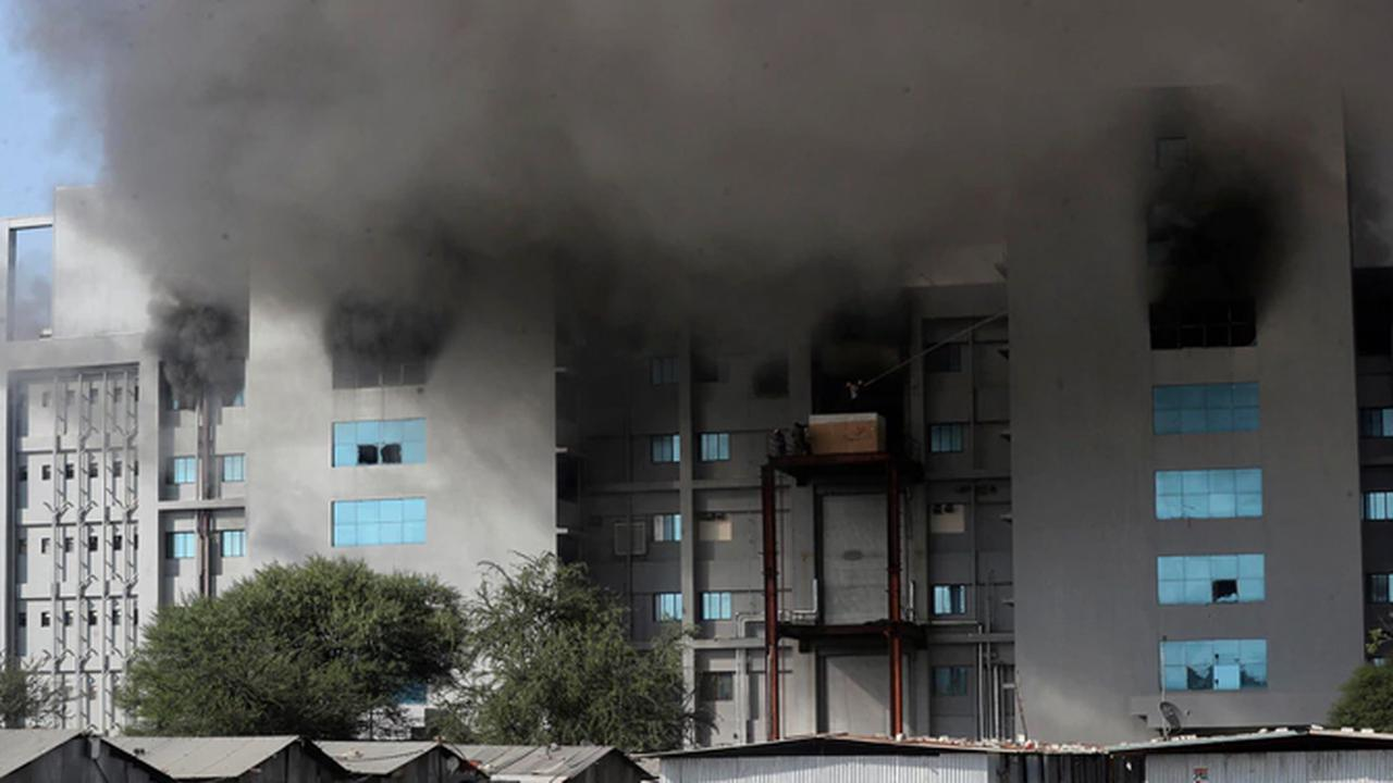 Fire Rips Through COVID-19 Vaccine Plant in India
