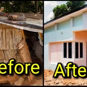 Stranger Built A House For A Widow 6 Months After Hearing Her Story (Photos)