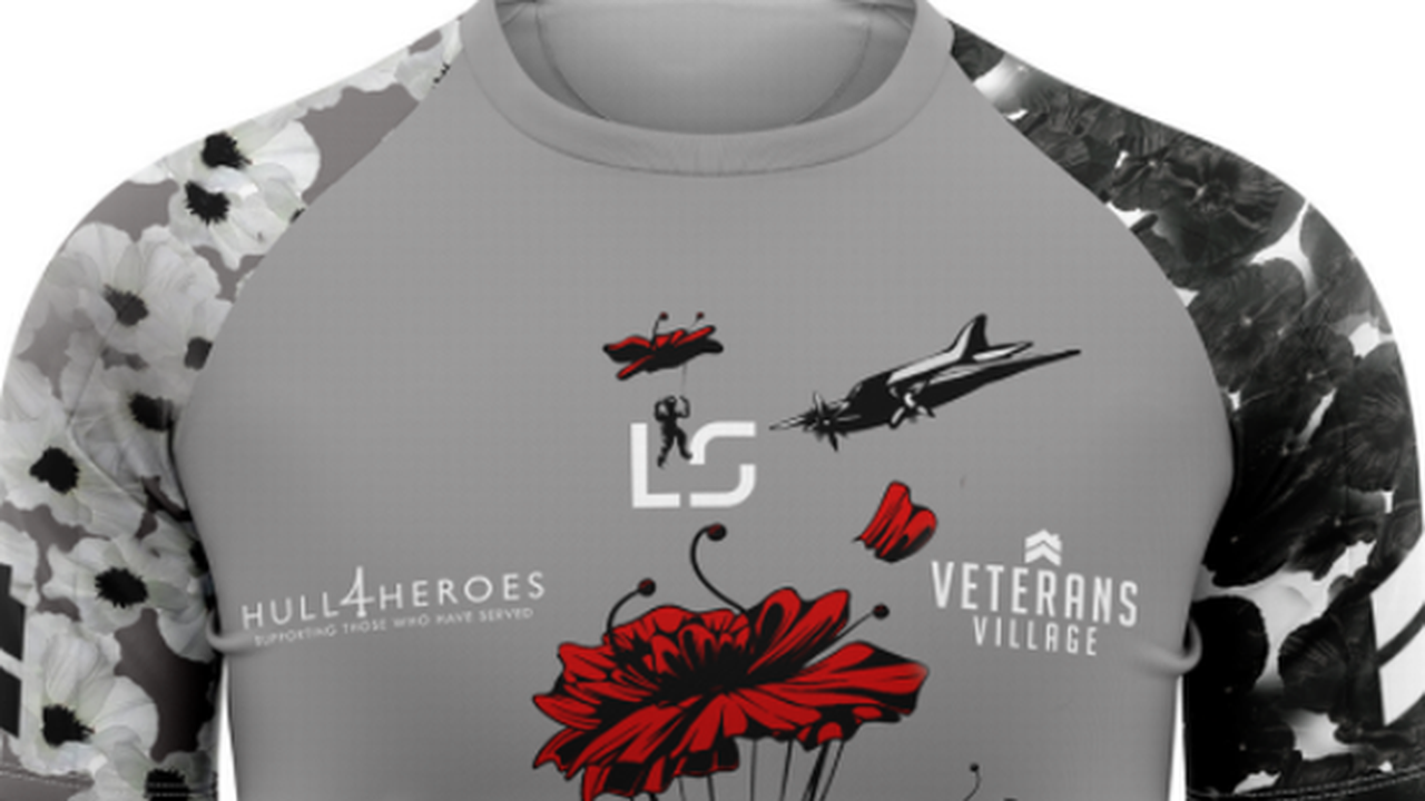How a Hull FC fan is aiming to raise more than £10,000 for Hull 4 Heroes