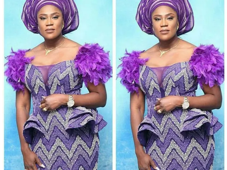 Dear Mothers, Check Out These Awesome Ankara Dress Styles For This Easter