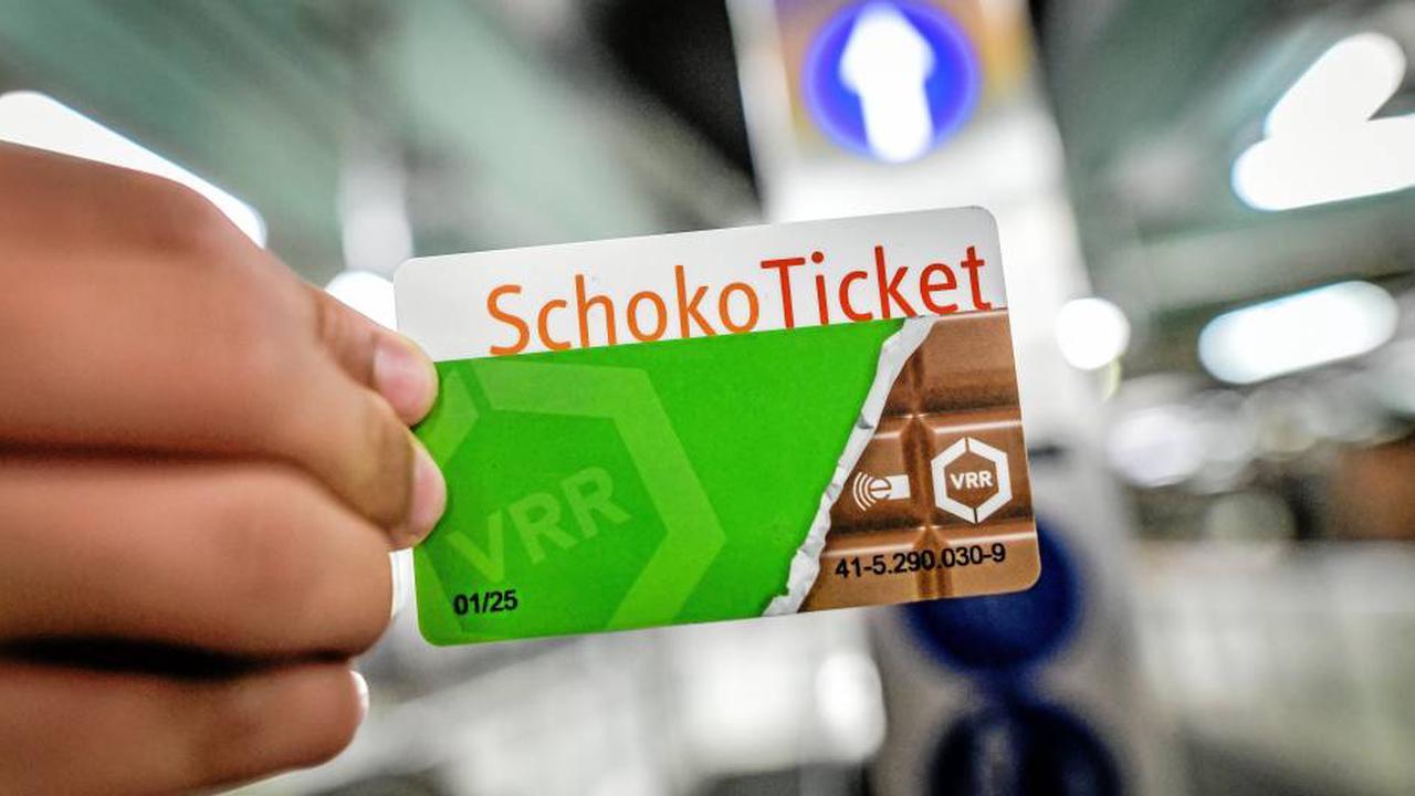 Schoko-Ticket für Schüler: DVG startet Frühbucheraktion