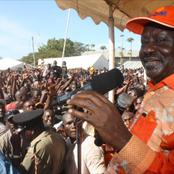 Raila Odinga to Tour Costal Region for 5 Days From Monday