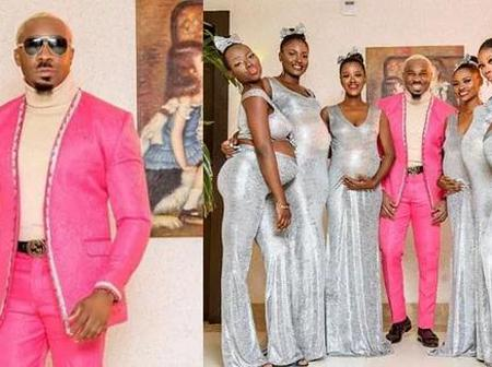 Don Jazzy, Mopha and Others reacts as Man storms Uchemba wedding with SIX pregnant Women