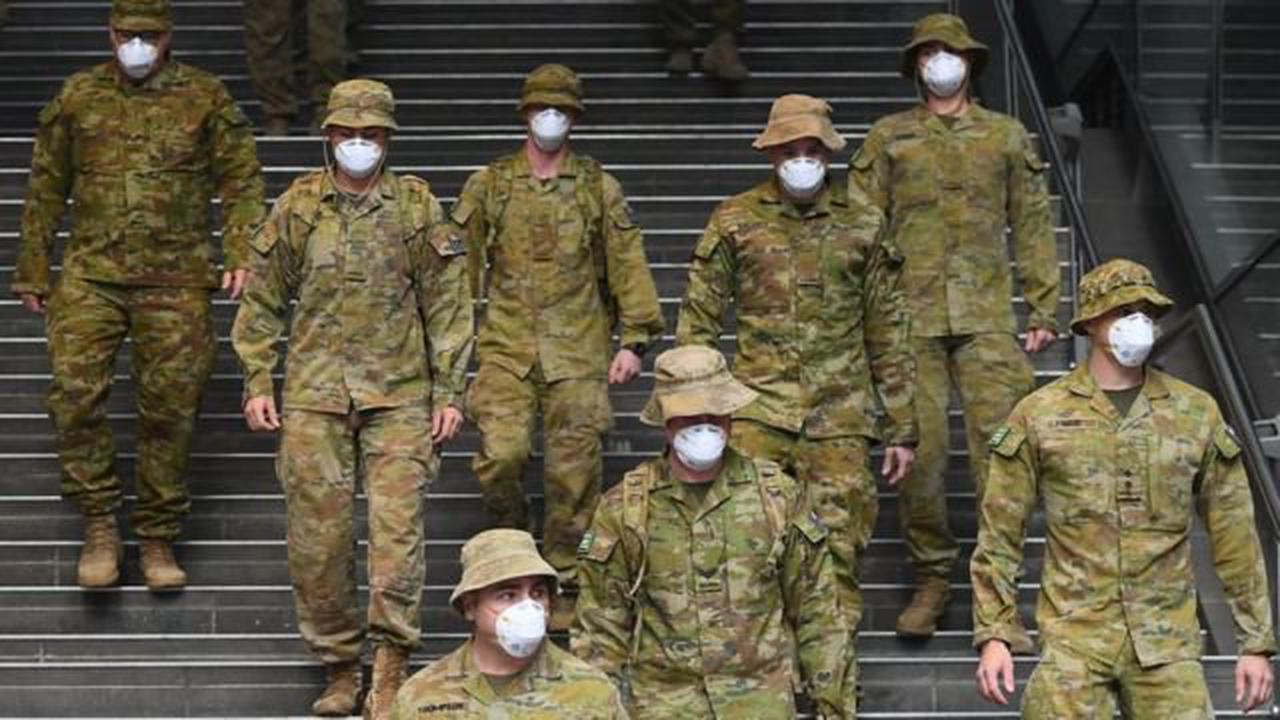 Covid in Sydney: Military deployed to help enforce lockdown