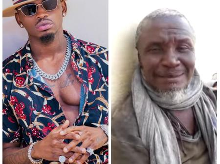 Uproar After a Kenyan Man Goes Viral Claiming to Be Diamond Platinumz Father -Video