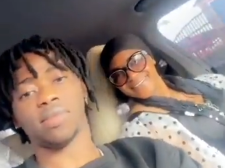 Heartwarming: Popular Igbo Rapper, Jeriq Meets His Mom, Shares Video of Moment He Spent With Her