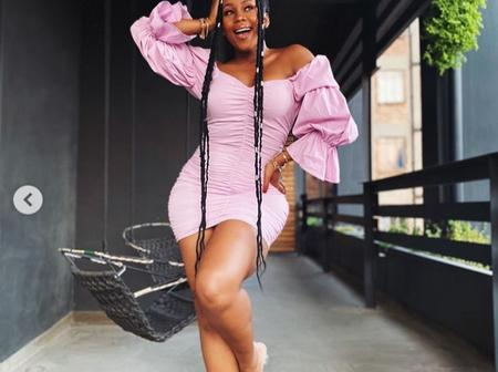 Bontle Modiselle left fans dumbstruck with her recent pictures looking absolutely beautiful.