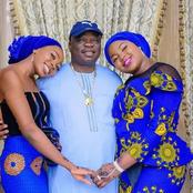 Olofa of Offa, King Gbadamosi Celebrates His Daughter's Birthday Today, See their Photos