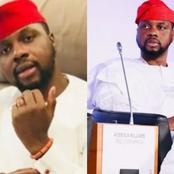 Meet the brilliant young man Adebola Williams, who loves wearing white and red native (Photos)