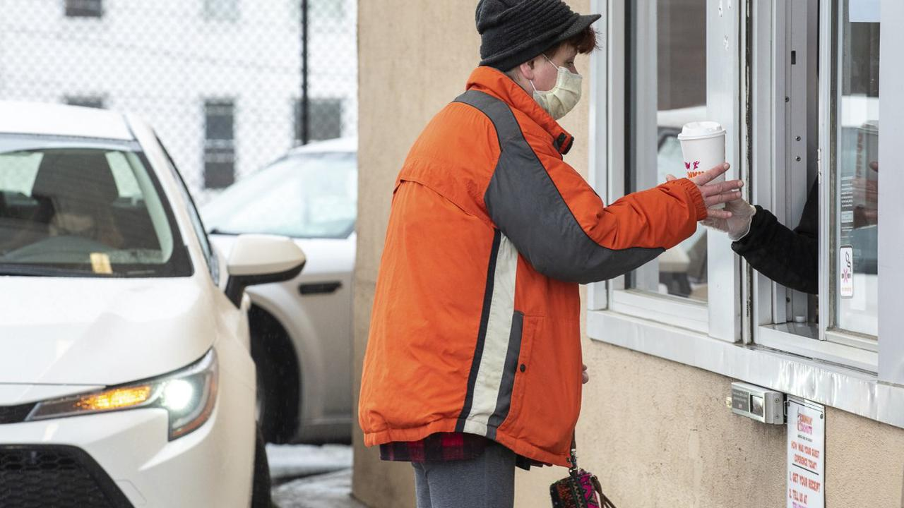 Drive-thru visits up 26 percent as fast food explores a future of 'contactless' dining