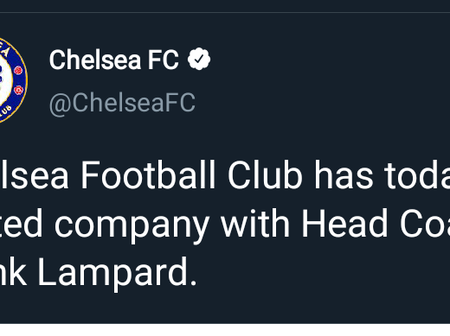 Breaking: Chelsea Manager, Frank Lampard Sacked!