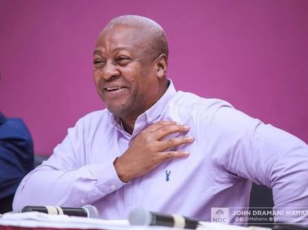 John Mahama Sends Another Encouraging Message To Ghana