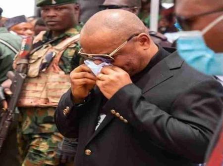 Akwa Ibom Governor bids farewell to State PDP Chairman