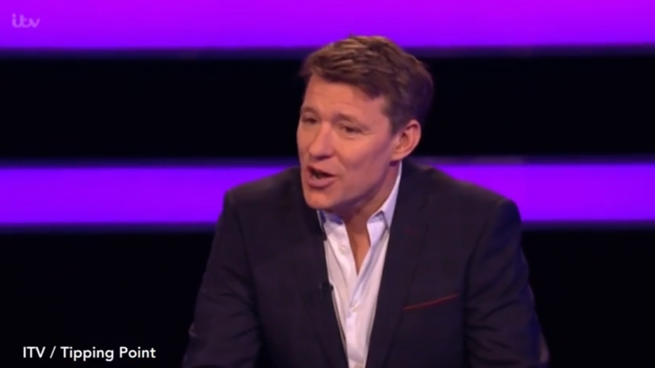 Tipping Point's Ben Shephard hits out at contestant over prize