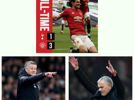 After Manchester United defeated Tottenham by 3-1, see what Ole said that got Jose Mourinho angry.