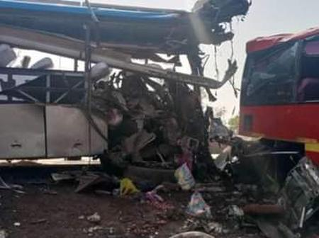 18 people dead in Buipe - Tamale highway accident