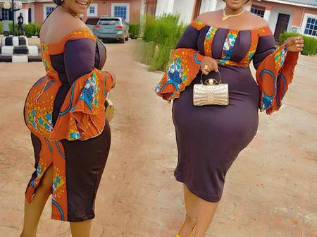 If You Are True Fashion Lover, Here Are Gorgeous Ankara Styles For Stylish Curvy Women