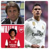 Transfer News Update On Varane, Conte, Willian