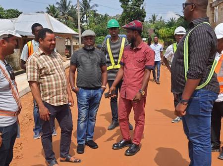 NEWMAP Project: Calabar communities agog as Gov Ayade construct roads, lights