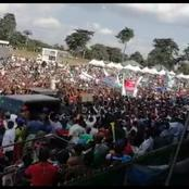 See Oshiomhole's Triumphant Entry Into APC Campaign Flag Off That May Send Chills To Obaseki(Video)