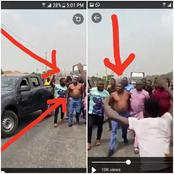 (VIDEO) Watch Scene Where Team Of DSS, Soldiers And Police Tried To Arrest Sunday Igboho