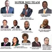 Raila Odinga's Possible 2022 Cabinet Line up In Case he Wins - Opinion