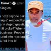Twitter users lauds Reno Omkri after his advice to Singles